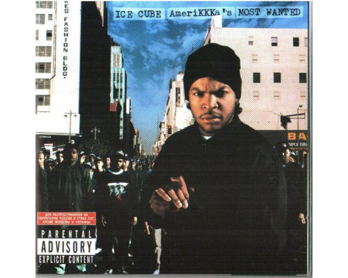 Ice Cube ‎– AmeriKKKa's Most Wanted