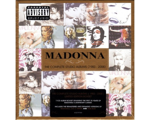 Madonna – The Complete Studio Albums 1983 - 2008