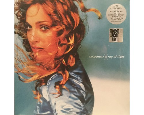 Madonna ‎– Ray Of Light (Limited Edition) (Clear Vinyl) 2LP