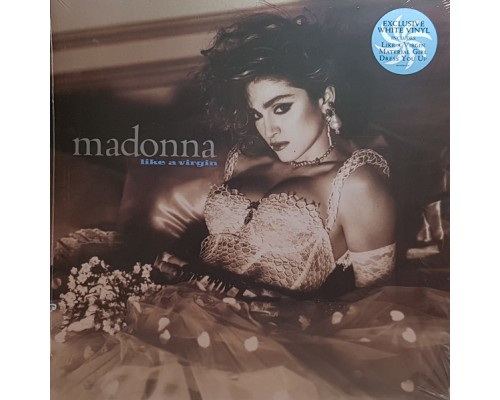 Madonna ‎– Like A Virgin (White Vinyl) LP