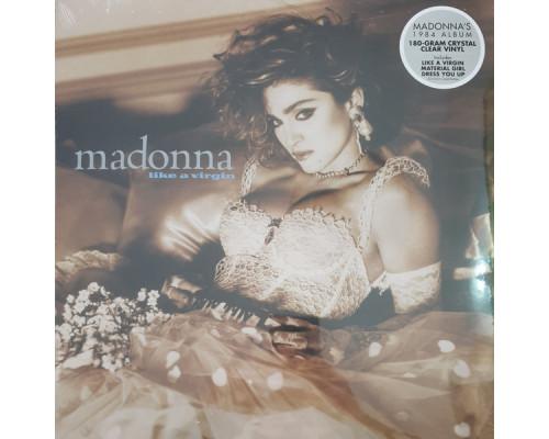 Madonna – Like A Virgin (Limited Edition) (Crystal Clear Vinyl) LP